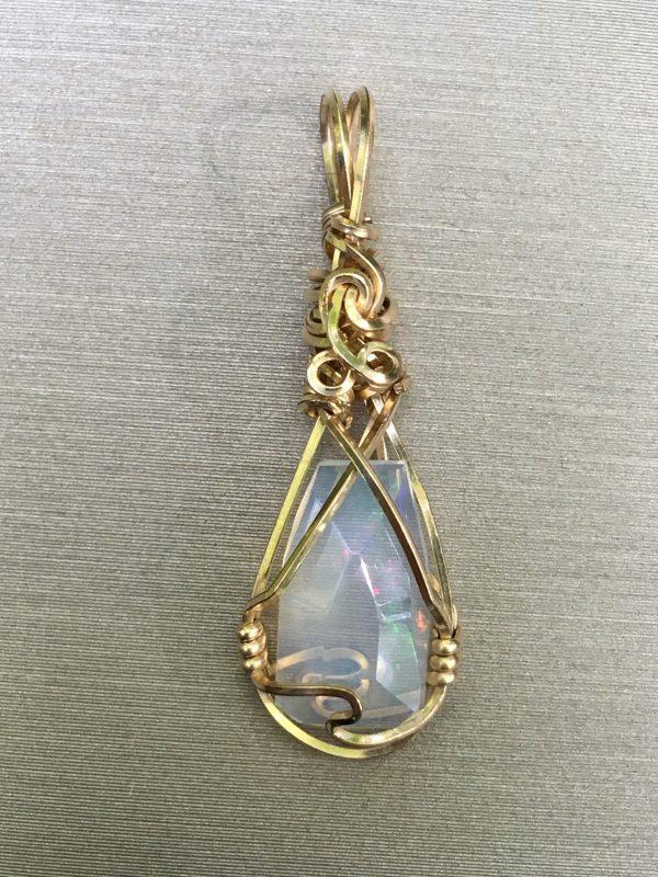 Crystal Opal GF Pendant 1