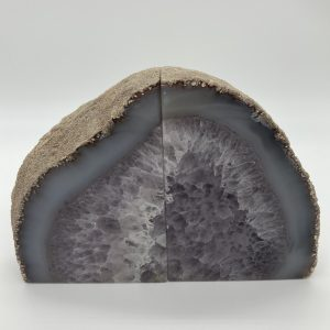Agate Amethyst Bookends 1